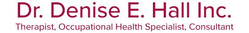 Dr. Denise E. Hall Inc. Logo